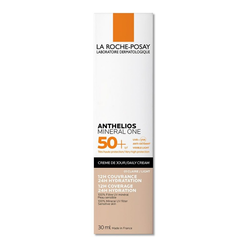 Anthelios Mineral One Fps 50+ Color Ligth 01 La Roche Posay x 30 ml