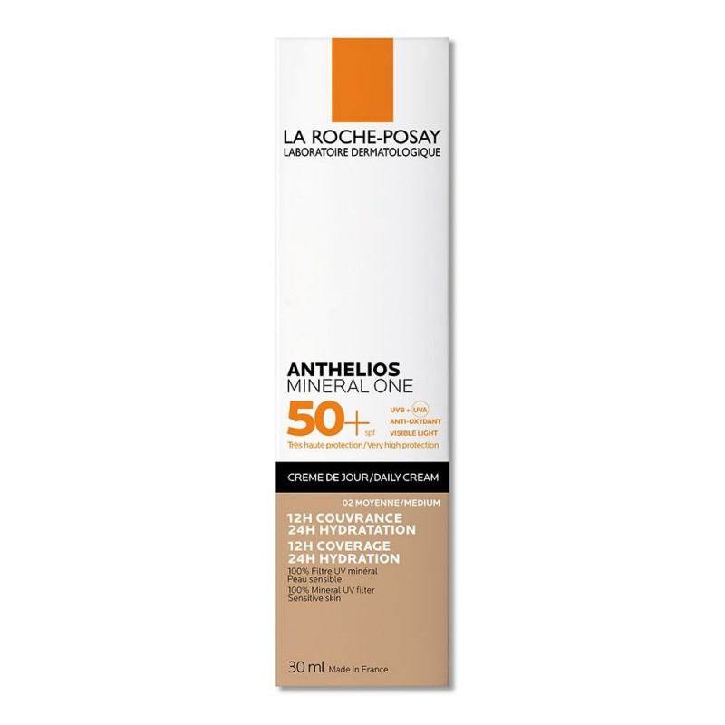 Anthelios Mineral One Fps 50+ Color Medium 02 La Roche Posay x 30 ml