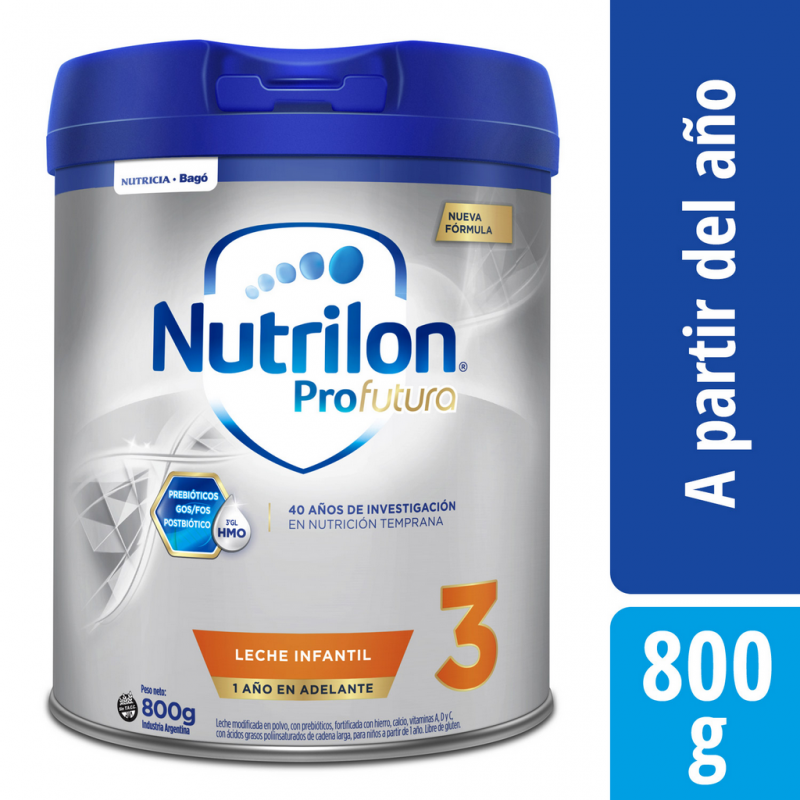 NUTRILON 3 PROFUTURA lata x800