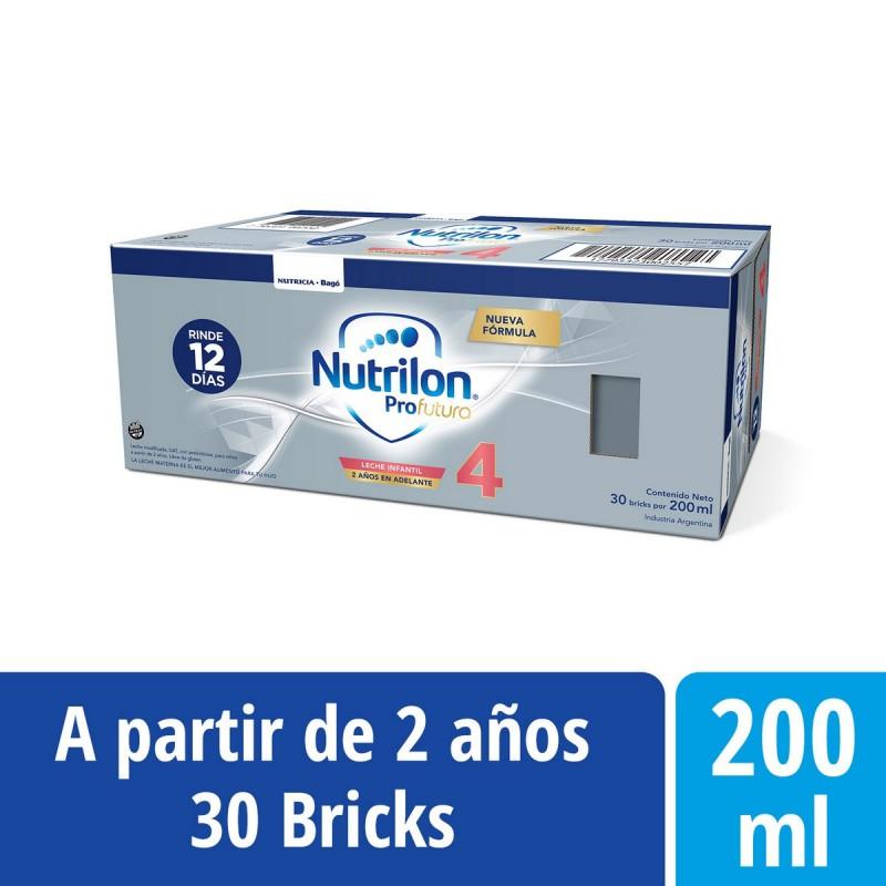 Bebida láctea Nutrilon 4 Profutura Brick 200 ml x 30 Unidades