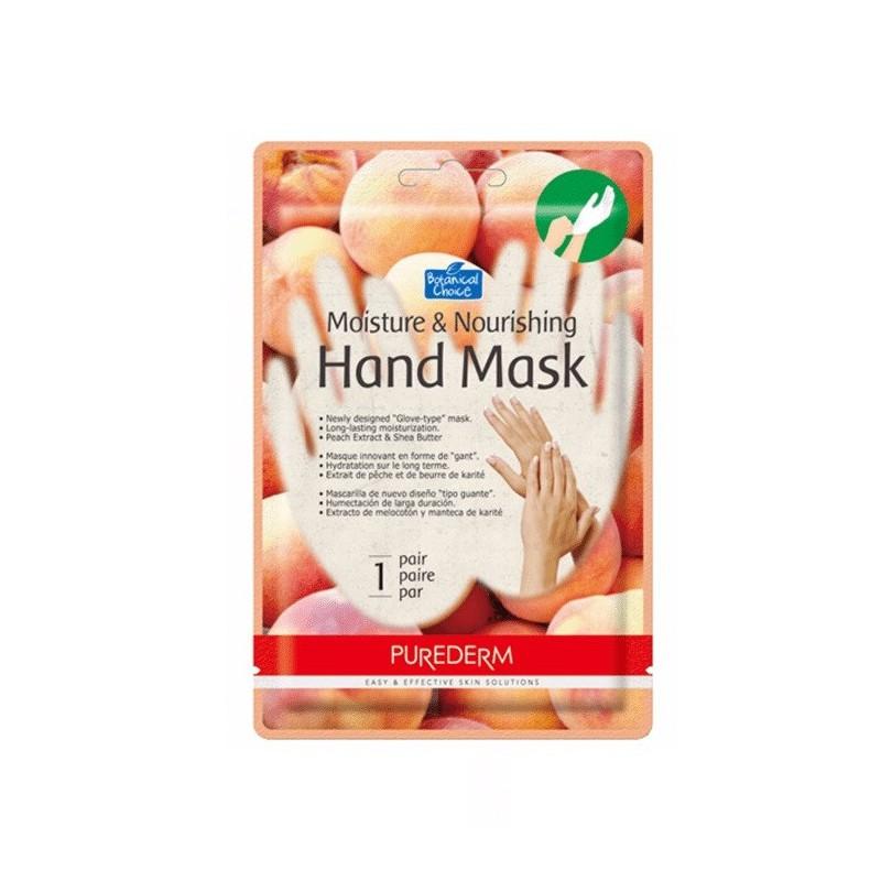 Mask Moisture Hand Purederm x 1 Un
