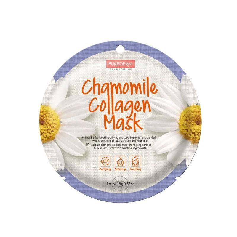 Mask Collagen Chamomile Purederm x 1 Un